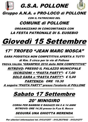 G.S.A.  POLLONE  ATL.  2001  TRIVERO