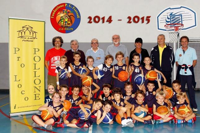 Minibasket 2014-15 gruppo